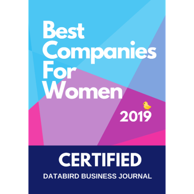 Best Companies for Women 2019 – DataBird Business Journal - sha256$c0848196418426ed4cf79796fdd30992ec6ee333f3b94c878f284beec1805027