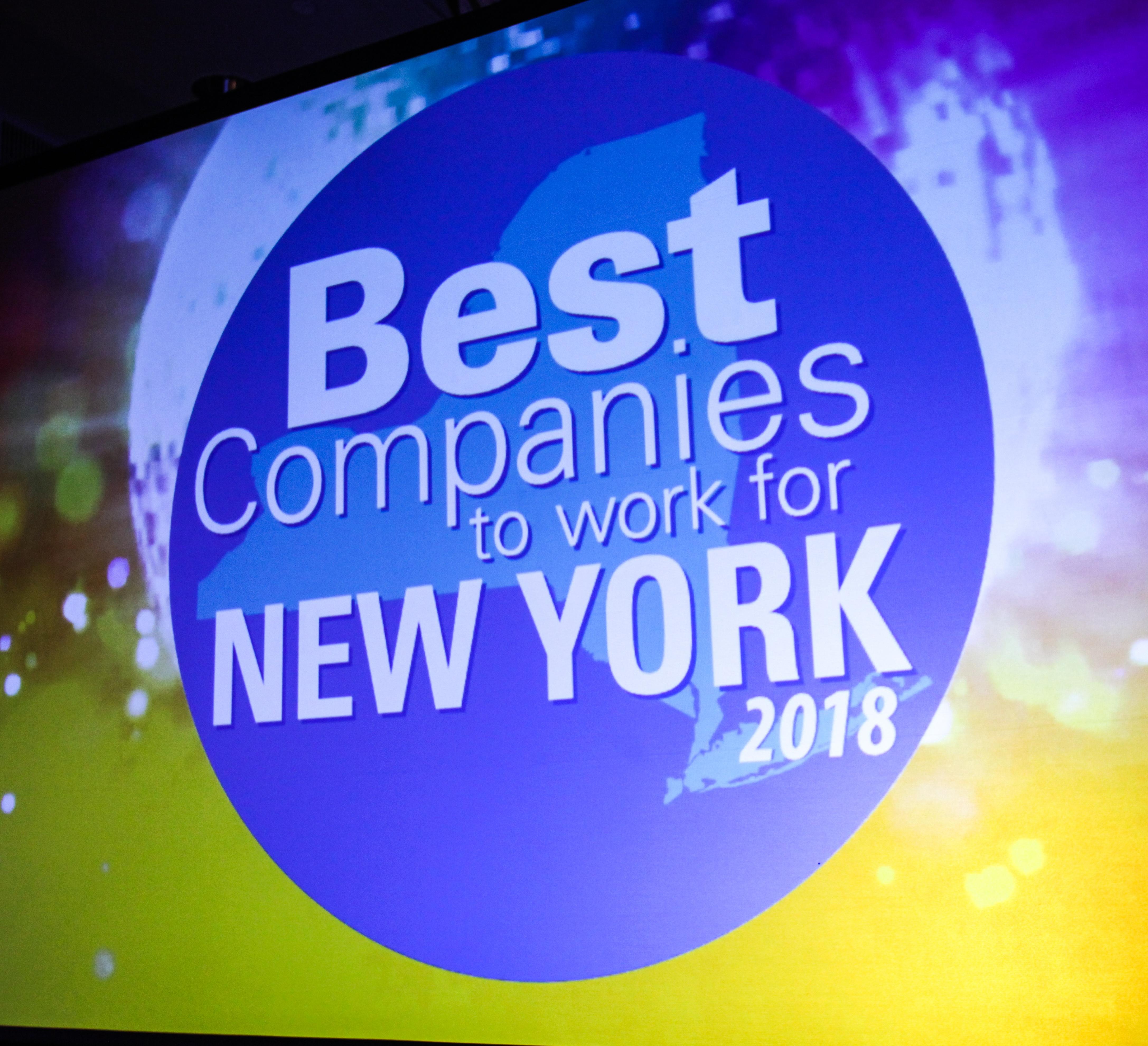#12 Ranking on the 2018 Best Companies List