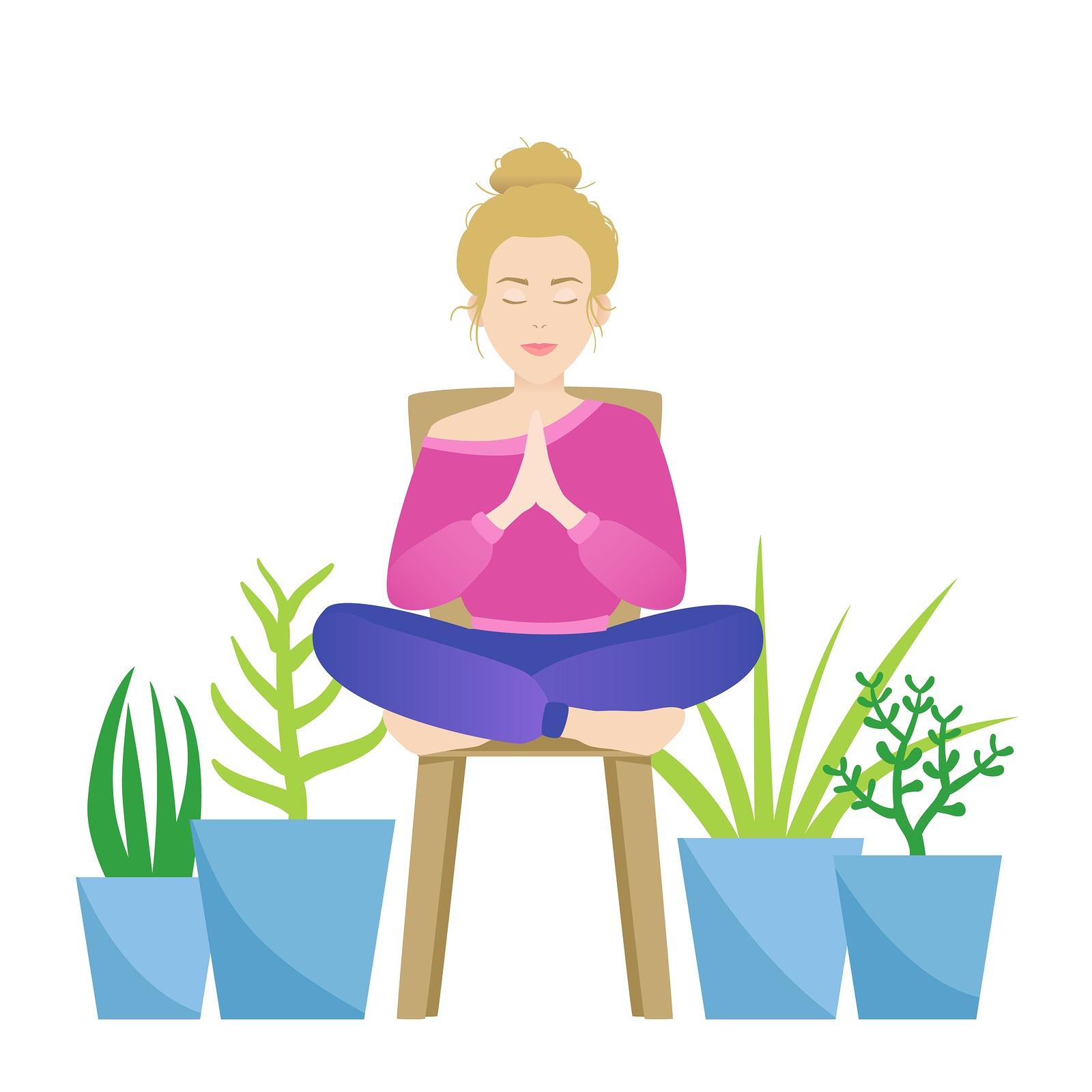 Getting Uncomfortable (Chair Yoga)
